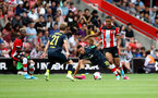 SOUTHAMPTON, ENGLAND - AUGUST 03: Yan Valery of Southampton during the Pre-Season Friendly match between Southampton FC and FC Köln at St. Mary's Stadium on August 03, 2019 in Southampton, England. (Photo by Matt Watson/Southampton FC via Getty Images,)