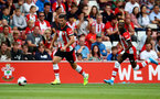SOUTHAMPTON, ENGLAND - AUGUST 03: Shane Long of Southampton during the Pre-Season Friendly match between Southampton FC and FC Köln at St. Mary's Stadium on August 03, 2019 in Southampton, England. (Photo by Matt Watson/Southampton FC via Getty Images,)