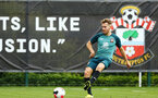 SOUTHAMPTON, ENGLAND - AUGUST 08: Jake Vokins  during a first team training session pictured at Staplewood Training Ground on August 06, 2019 in Southampton, England. (Photo by James Bridle - Southampton FC/Southampton FC via Getty Images)