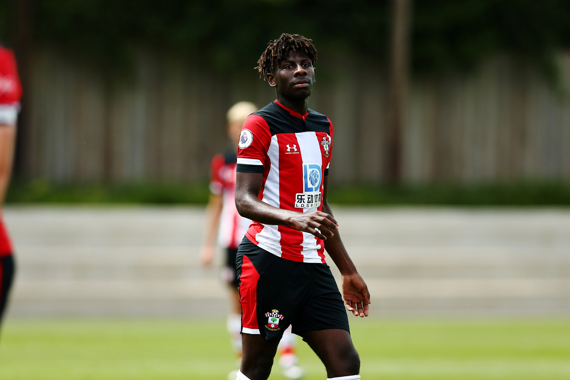 SOUTHAMPTON, ENGLAND - AUGUST 08: Alexandre Jankewitz during an U23's Pre Season friendly match between Southampton FC and QPR  pictured at Staplewood Training Ground on August 06, 2019 in Southampton, England. (Photo by James Bridle - Southampton FC/Southampton FC via Getty Images)