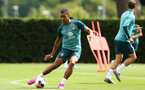 SOUTHAMPTON, ENGLAND - AUGUST 07: Yan Valery during a Southampton FC training session pictured at Staplewood Training Ground on August 07, 2019 in Southampton, England. (Photo by James Bridle - Southampton FC/Southampton FC via Getty Images)