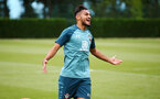 SOUTHAMPTON, ENGLAND - AUGUST 08: Sofiane Boufal  during a Southampton FC Training Session pictured at Staplewood Training Ground on August 08, 2019 in Southampton, England. (Photo by James Bridle - Southampton FC/Southampton FC via Getty Images)