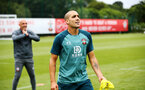 SOUTHAMPTON, ENGLAND - AUGUST 08: Oriol Romeu during a Southampton FC Training Session pictured at Staplewood Training Ground on August 08, 2019 in Southampton, England. (Photo by James Bridle - Southampton FC/Southampton FC via Getty Images)
