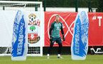 SOUTHAMPTON, ENGLAND - AUGUST 08: Harry lewis (middle)  during a Southampton FC Training Session pictured at Staplewood Training Ground on August 08, 2019 in Southampton, England. (Photo by James Bridle - Southampton FC/Southampton FC via Getty Images)