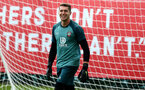 SOUTHAMPTON, ENGLAND - AUGUST 13: Harry Lewis during a Southampton FC training session at the Staplewood Campus on August 13, 2019 in Southampton, England. (Photo by Matt Watson/Southampton FC via Getty Images)