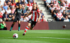 SOUTHAMPTON, ENGLAND - AUGUST 17: James Ward-Prowse of Southampton during the Premier League match between Southampton FC and Liverpool FC at St Mary's Stadium on August 17, 2019 in Southampton, United Kingdom. (Photo by Matt Watson/Southampton FC via Getty Images)