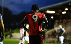 SOUTHAMPTON, ENGLAND - AUGUST 19: Dan Nlundulu  shirt back during the match between Southampton FC and Derby County FC pictured at Staplewood Training Ground on August 19, 2019 in Southampton, England. (Photo by James Bridle - Southampton FC/Southampton FC via Getty Images)