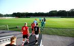 SOUTHAMPTON, ENGLAND - AUGUST 19: General View  ahead of the match between Southampton FC and Derby County FC pictured at Staplewood Training Ground on August 19, 2019 in Southampton, England. (Photo by James Bridle - Southampton FC/Southampton FC via Getty Images)