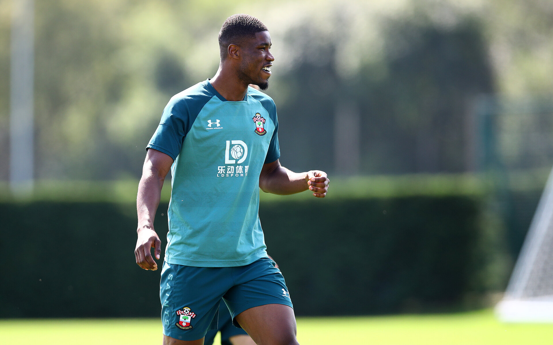 SOUTHAMPTON, ENGLAND - AUGUST 20: Kevin Danso during a Southampton FC training session at the Staplewood Campus on August 20, 2019 in Southampton, England. (Photo by Matt Watson/Southampton FC via Getty Images)