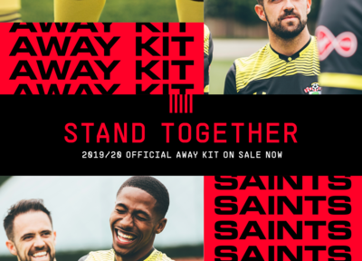 Saints' 2019/20 away kit on sale now