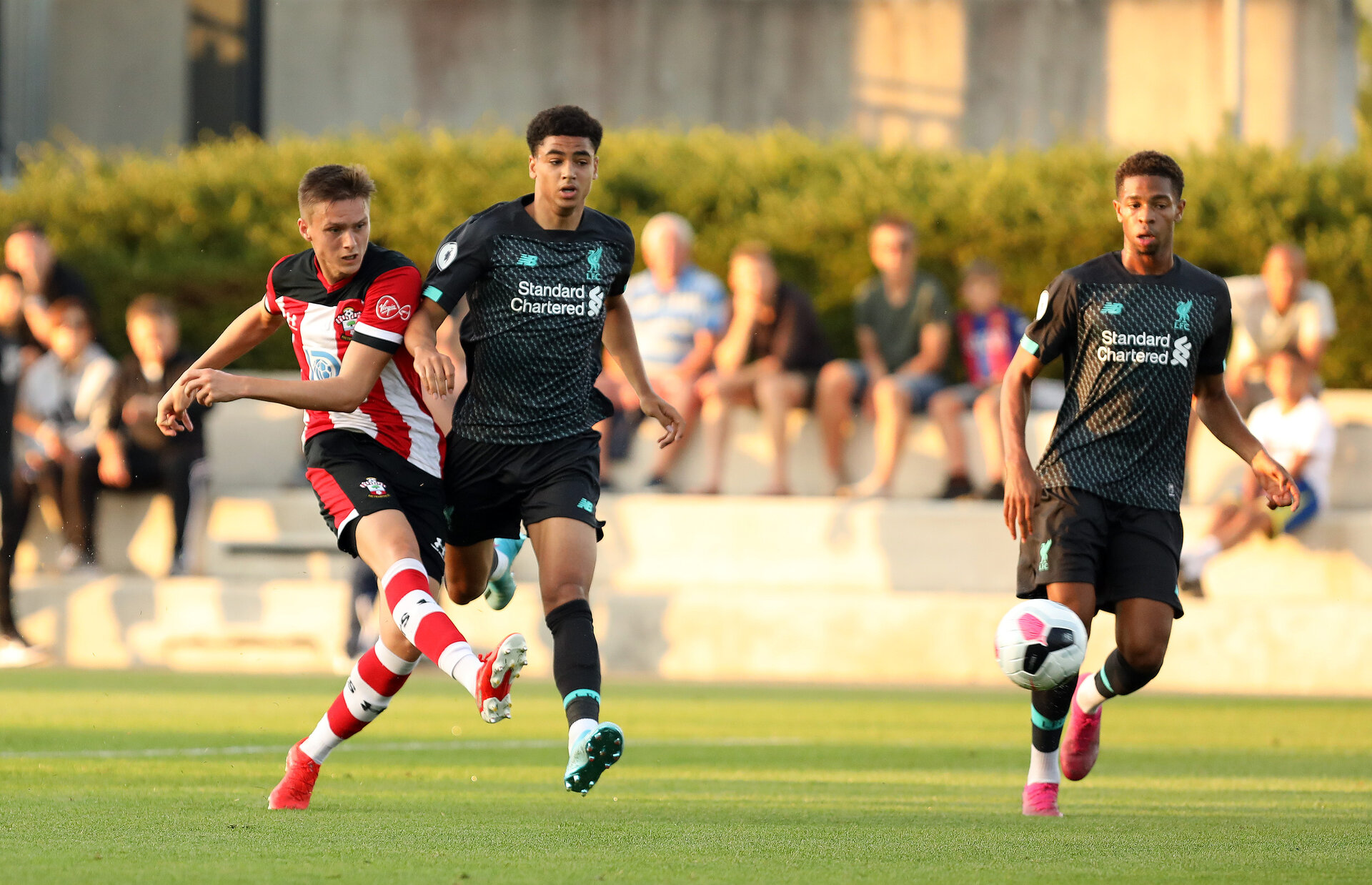 Southampton U23s v Liverpool U23s, Staplewood Campus, Marchwood, Southampton            Picture: Chris Moorhouse       Monday 26th August 2019
