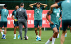 SOUTHAMPTON, ENGLAND - AUGUST 29: Mohamed Elyounoussi during a Southampton FC training session at the Staplewood Campus on August 29, 2019 in Southampton, England. (Photo by Matt Watson/Southampton FC via Getty Images)
