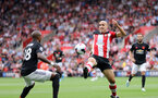 SOUTHAMPTON, ENGLAND - AUGUST 31: Oriol Romeu during the Premier League match between Southampton FC and Manchester United at St Mary's Stadium on August 31, 2019 in Southampton, United Kingdom. (Photo by Chris Moorhouse/Southampton FC via Getty Images)
