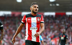 SOUTHAMPTON, ENGLAND - AUGUST 31: Sofiane Boufal of Southampton during the Premier League match between Southampton FC and Manchester United at St Mary's Stadium on August 31, 2019 in Southampton, United Kingdom. (Photo by Matt Watson/Southampton FC via Getty Images)