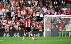 SOUTHAMPTON, ENGLAND - AUGUST 31: Sofiane Boufal of during the Premier League match between Southampton FC and Manchester United at St Mary's Stadium on August 31, 2019 in Southampton, United Kingdom. (Photo by Matt Watson/Southampton FC via Getty Images)