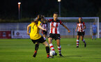 Sophia Pharoah during the FA Women's National League, Div One South West match between Southampton FC Women and Southampton Women, at the Testwood Community Stadium, AFC Totton, Southampton, 4th September 2019 (pic by Isabelle Field)