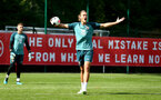 SOUTHAMPTON, ENGLAND - SEPTEMBER 05: Jannik Vestergaard during a Southampton FC training session at the Staplewood Campus on September 05, 2019 in Southampton, England. (Photo by Matt Watson/Southampton FC via Getty Images)