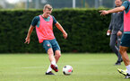 SOUTHAMPTON, ENGLAND - SEPTEMBER 10: James Ward-Prowse during a Southampton FC training session at the Staplewood Campus on September 10, 2019 in Southampton, England. (Photo by Matt Watson/Southampton FC via Getty Images)