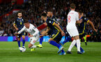 SOUTHAMPTON, ENGLAND - SEPTEMBER 10: Ross Barkley of England wins a penalty during the UEFA Euro 2020 qualifier match between England and Kosovo at St. Mary's Stadium on September 10, 2019 in Southampton, England. (Photo by Matt Watson/Southampton FC via Getty Images)