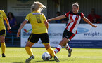 during the FA Women's National League, Div One South West match between Southampton FC Women and Buckland, at the Testwood Community Stadium, AFC Totton, Southampton, 15th September 2019(pic by Isabelle Field)