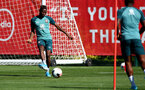 SOUTHAMPTON, ENGLAND - SEPTEMBER 17: Moussa Djenepo during a Southampton FC training session at the Staplewood Campus on September 17, 2019 in Southampton, England. (Photo by Matt Watson/Southampton FC via Getty Images)