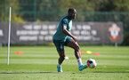SOUTHAMPTON, ENGLAND - SEPTEMBER 17: Kevin Danso during a Southampton FC training session at the Staplewood Campus on September 17, 2019 in Southampton, England. (Photo by Matt Watson/Southampton FC via Getty Images)