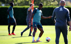 SOUTHAMPTON, ENGLAND - SEPTEMBER 19: Kevin Danso during a Southampton FC training session at the Staplewood Campus on September 19, 2019 in Southampton, England. (Photo by Matt Watson/Southampton FC via Getty Images)