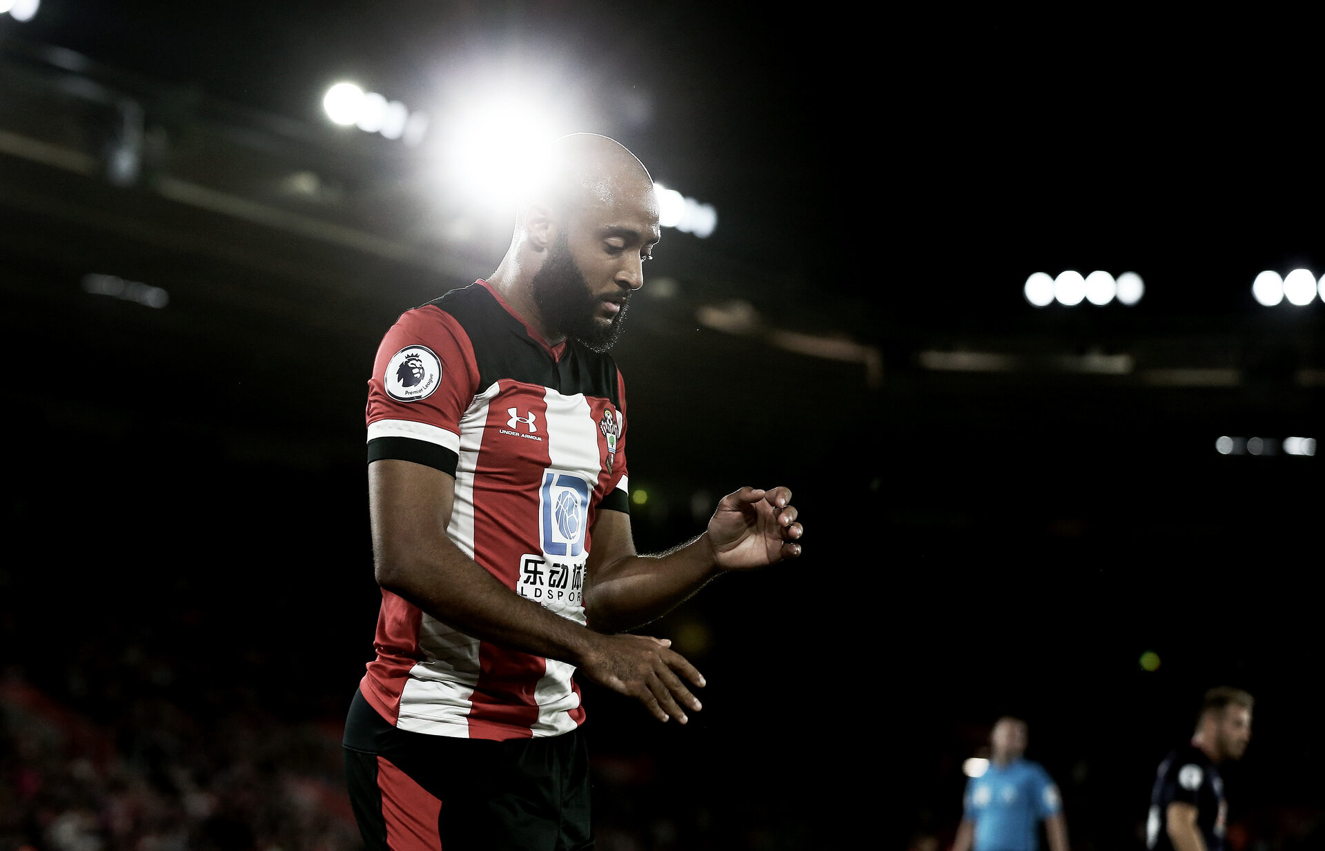 SOUTHAMPTON, ENGLAND - SEPTEMBER 20: Nathan Redmond of Southampton during the Premier League match between Southampton FC and AFC Bournemouth  at St Mary's Stadium on September 20, 2019 in Southampton, United Kingdom. (Photo by Matt Watson/Southampton FC via Getty Images)