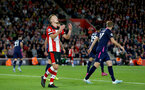 SOUTHAMPTON, ENGLAND - SEPTEMBER 20: James Ward-Prowse of Southampton during the Premier League match between Southampton FC and AFC Bournemouth  at St Mary's Stadium on September 20, 2019 in Southampton, United Kingdom. (Photo by Matt Watson/Southampton FC via Getty Images)