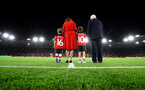 SOUTHAMPTON, ENGLAND - SEPTEMBER 20: Tributes are paid to Leon Crouch during the Premier League match between Southampton FC and AFC Bournemouth  at St Mary's Stadium on September 20, 2019 in Southampton, United Kingdom. (Photo by Matt Watson/Southampton FC via Getty Images)