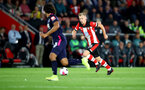 SOUTHAMPTON, ENGLAND - SEPTEMBER 20: James Ward-Prowse of during the Premier League match between Southampton FC and AFC Bournemouth  at St Mary's Stadium on September 20, 2019 in Southampton, United Kingdom. (Photo by Matt Watson/Southampton FC via Getty Images)