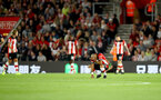 SOUTHAMPTON, ENGLAND - SEPTEMBER 20: Nathan Redmond of Southampton dejected during the Premier League match between Southampton FC and AFC Bournemouth  at St Mary's Stadium on September 20, 2019 in Southampton, United Kingdom. (Photo by Matt Watson/Southampton FC via Getty Images)