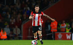 Pierre-Emile Hojbjerg during Premier League match between Southampton FC and Bournemouth, at St Mary's Stadium, Southampton, 20th September 2019 (pic Isabelle Field)