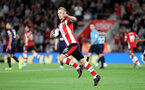 SOUTHAMPTON, ENGLAND - SEPTEMBER 20: James Ward-Prowse celebrates during the Premier League match between Southampton FC and AFC Bournemouth at St Mary's Stadium on September 21, 2019 in Southampton, United Kingdom. (Photo by Chris Moorhouse/Southampton FC via Getty Images)