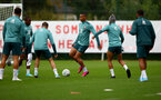 SOUTHAMPTON, ENGLAND - SEPTEMBER 22: Yan Valery during a training session at the Staplewood Campus on September 22, 2019 in Southampton, England. (Photo by Matt Watson/Southampton FC via Getty Images)