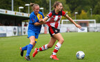 Ella Morris during the FA Women's National League, Div One South West match between Southampton FC Women and Cheltenham Town, at the Testwood Community Stadium, AFC Totton, Southampton, 22nd September 2019 (pic by Isabelle Field)
