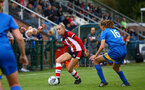 Phoebe Williams during the FA Women's National League, Div One South West match between Southampton FC Women and Cheltenham Town, at the Testwood Community Stadium, AFC Totton, Southampton, 22nd September 2019 (pic by Isabelle Field)