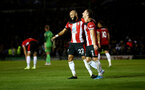 PORTSMOUTH, ENGLAND - SEPTEMBER 24:  during the Carabao Cup Third Round match between Portsmouth and Southampton at Fratton Park on September 24, 2019 in Portsmouth, England. (Photo by Matt Watson/Southampton FC via Getty Images)