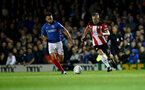 PORTSMOUTH, ENGLAND - SEPTEMBER 24: James Ward-Prowse of Southampton during the Carabao Cup Third Round match between Portsmouth and Southampton at Fratton Park on September 24, 2019 in Portsmouth, England. (Photo by Matt Watson/Southampton FC via Getty Images)