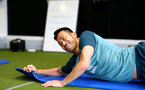 SOUTHAMPTON, ENGLAND - SEPTEMBER 25: Maya Yoshida during a Southampton FC training/recovery session at Staplewood Complex on September 25, 2019 in Southampton, England. (Photo by Matt Watson/Southampton FC via Getty Images)