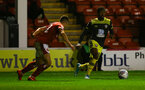 Kayne Ramsay during Lessing.com Trophy match between Southampton FC U23 and Walsall, at Walsall Football Club Stadium, 1th October 2019 (pic Isabelle Field)