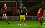 Callum Slattery during Lessing.com Trophy match between Southampton FC U23 and Walsall, at Walsall Football Club Stadium, 1th October 2019 (pic Isabelle Field)
