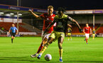 Dan N'Lundulu during Lessing.com Trophy match between Southampton FC U23 and Walsall, at Walsall Football Club Stadium, 1th October 2019 (pic Isabelle Field)