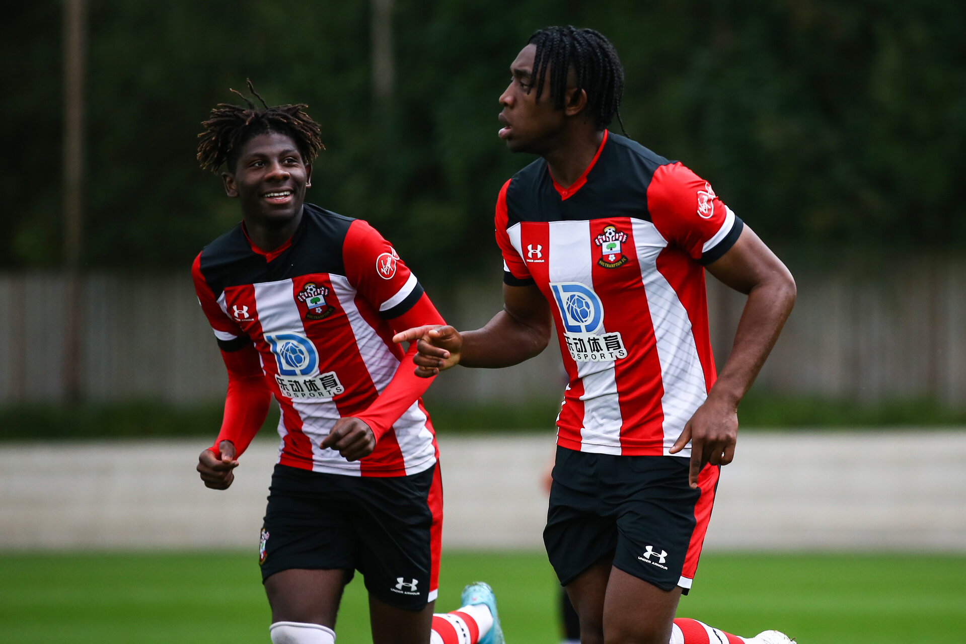 Dan N'Lundulu during Premier League Cup between Southampton FC U23 and Stoke City at Staplewood Campus, Southampton 5th October 2019 (pic by Isabelle Field)