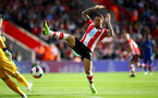 SOUTHAMPTON, ENGLAND - OCTOBER 06: Danny Ings of Southampton during the Premier League match between Southampton FC and Chelsea FC at St Mary's Stadium on October 06, 2019 in Southampton, United Kingdom. (Photo by Matt Watson/Southampton FC via Getty Images)