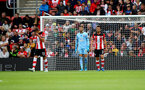 SOUTHAMPTON, ENGLAND - OCTOBER 06: Players of Southampton dejected during the Premier League match between Southampton FC and Chelsea FC at St Mary's Stadium on October 06, 2019 in Southampton, United Kingdom. (Photo by Matt Watson/Southampton FC via Getty Images)