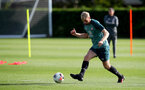 SOUTHAMPTON, ENGLAND - OCTOBER 09: Aaron O'Driscoll during a Southampton FC training session at the Staplewood Campus on October 09, 2019 in Southampton, England. (Photo by Matt Watson/Southampton FC via Getty Images)