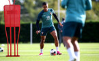 SOUTHAMPTON, ENGLAND - OCTOBER 09: Yan Valery during a Southampton FC training session at the Staplewood Campus on October 09, 2019 in Southampton, England. (Photo by Matt Watson/Southampton FC via Getty Images)