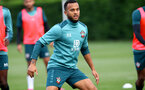 SOUTHAMPTON, ENGLAND - OCTOBER 16: Ryan Bertrand during a Southampton FC training session, at the Staplewood Campus, 16th October 2019 in Southampton, England. (Photo by Matt Watson/Southampton FC via Getty Images)
