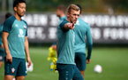 SOUTHAMPTON, ENGLAND - OCTOBER 17: James Ward-Prowse during a Southampton FC training session, at the Staplewood Campus, on October 17, 2019 in Southampton, England. (Photo by Matt Watson/Southampton FC via Getty Images)